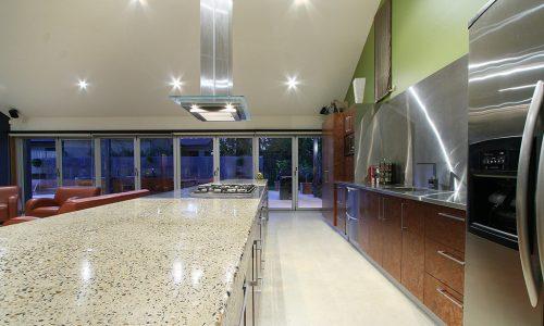 03b - Strine Design - Strine environments - Westgarth Street House - concrete benchtop kitchen in canberra