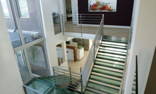 08 - Yarralumla Bay House - Sustainable house - Strine Design - stairs