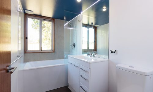 09 - Strine Design - Canberra builder - Strine Environments - Solstice House 1 - internal - prefab concrete bathroom