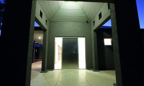 09 - Strine Design - Strine environments - Westgarth Street House - entry
