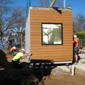 10 - Strine environments - Ecokit modular home - dickson ACT - canberra architect - canberra builder - modular home installation