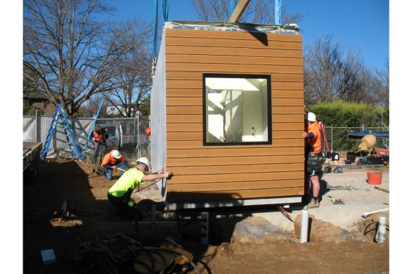 10 - Strine environments - Ecokit modular home - dickson ACT - canberra architect - canberra builder - modular home installation