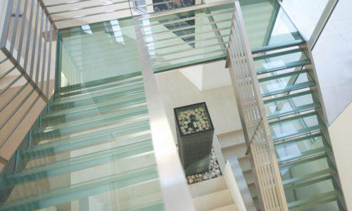 10 - Yarralumla Bay House - Sustainable house - Strine Design - stairs