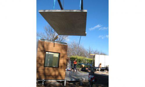 12 - Strine environments - Ecokit modular home - dickson ACT - canberra architect - canberra builder - modular home installation