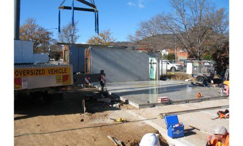 13 - Strine environments - Ecokit modular home - dickson ACT - canberra architect - canberra builder - concrete slab