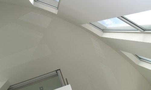 16 - Yarralumla Bay House - Sustainable house - Strine Design - high windows