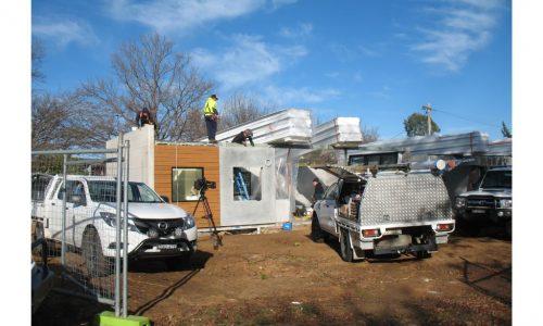 17 - Strine environments - Ecokit modular home - dickson ACT - canberra architect - canberra builder - prefab installation