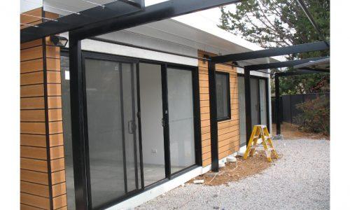 18 - Strine environments - Ecokit modular home - dickson ACT - canberra architect - canberra builder - prefab concrete modular home
