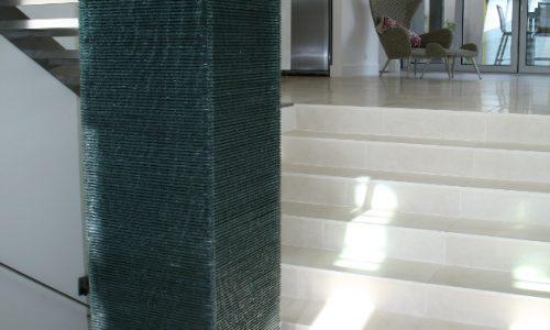 18 - Yarralumla Bay House - Sustainable house - Strine Design - indoor water feature