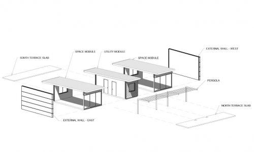 20 - Strine environments - Ecokit modular home - dickson ACT - canberra architect - canberra builder - prefab concrete modular home floorplan