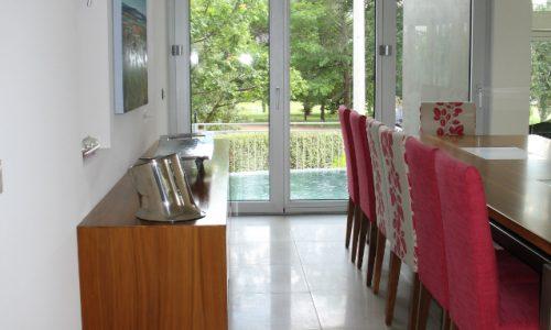 37 - Yarralumla Bay House - Sustainable house - Strine Design - dining room