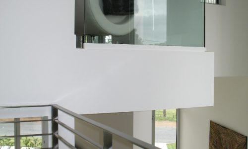 41 - Yarralumla Bay House - Sustainable house - Strine Design - perspective interiors
