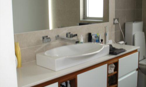 45 - Yarralumla Bay House - Sustainable house - Strine Design - bathroom basin