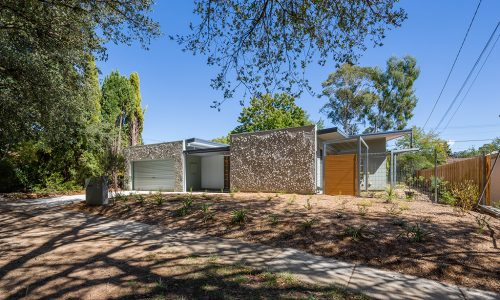 01 - Rock Wall House - Strine Design - Strine Environments - Best Canberra Builder - Green Architect Canberra - Sustainable